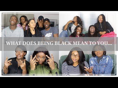 LET'S TALK | BLACK HISTORY MONTH | WHAT DOES BEING BLACK MEAN TO YOU ...