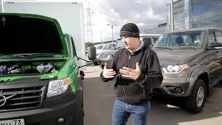 Обзор УАЗ PROFI 2018  Фургоны
