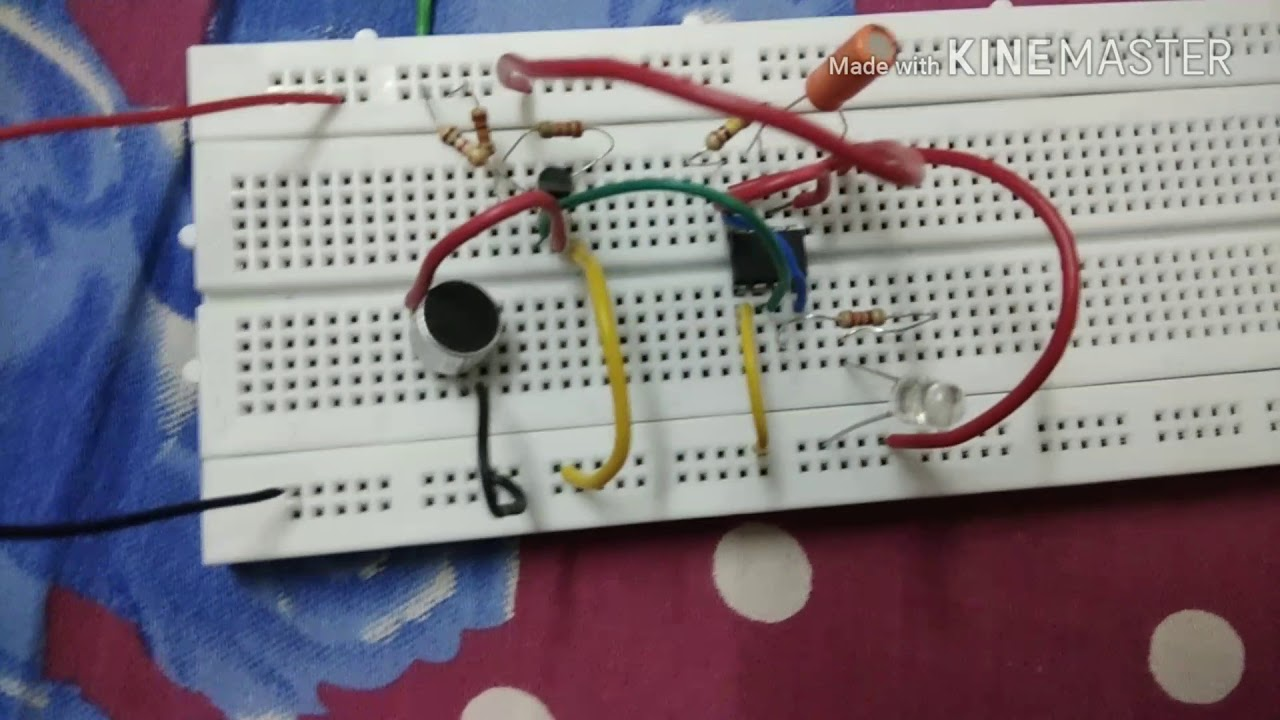 Clapping Switch Circuit