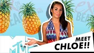 EX ON THE BEACH SEASON 5 | CHLOE AND VICKY PATTISON HAD A HEATED FIGHT!! | MTV UK