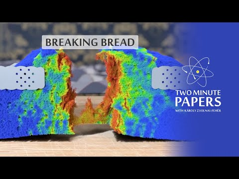 Simulating Breaking Bread And Dynamic Fractures 🍞