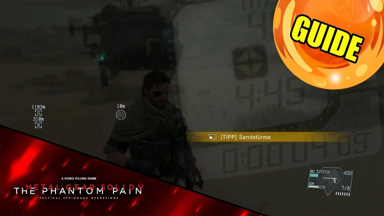 Metal Gear Solid 5 Tipps