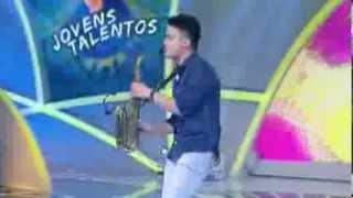 Programa Raul Gil - Caio Mesquita (Titanium) - Jovens Talentos - #JT2013