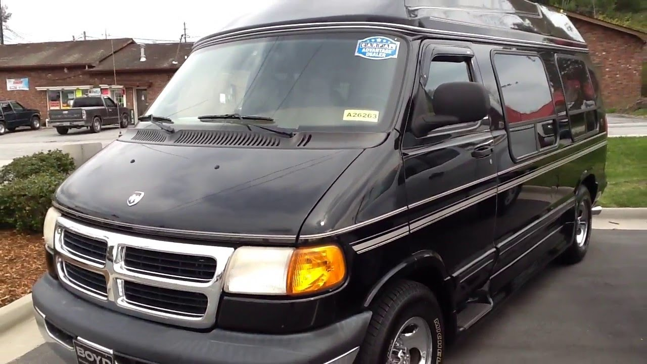 Used 2002 Dodge Ram Van Conversion
