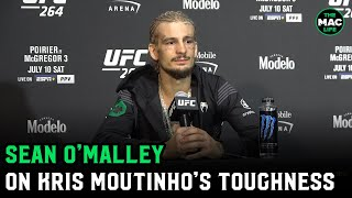 """Sean O'Malley on Kris Moutinho: """"He's probably at the hospital seeing triple right now"""""""
