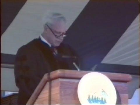 James R. Schlesinger Commencement Address