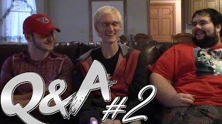 Q&A #2 | WHERES THE NEW SHIT PEOPLE SAY VIDEO!?