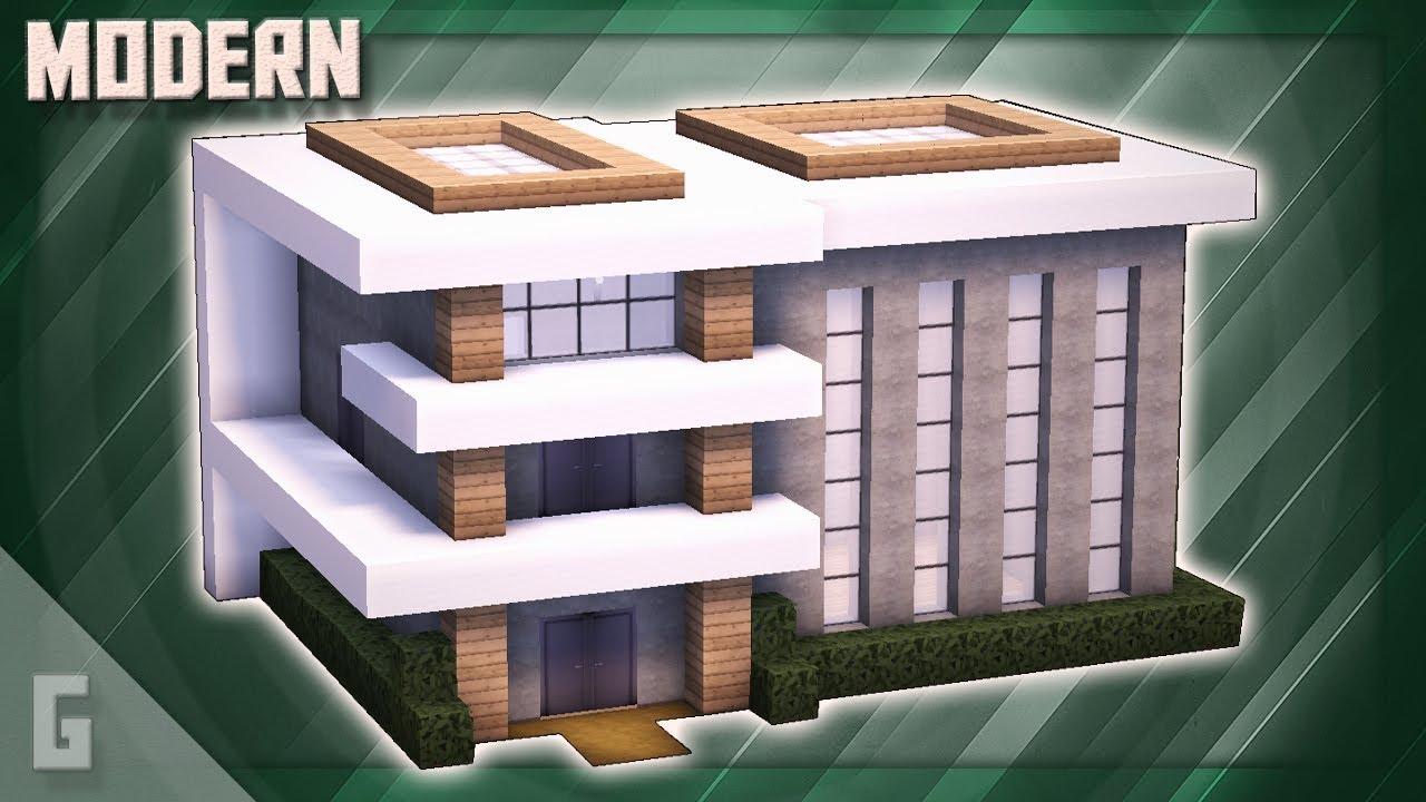 Minecraft: Luxury Modern House Tutorial! (#10)