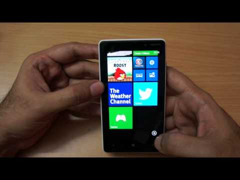 Nokia Lumia 820 Windows Phone Unboxing & Overview