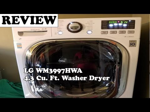 LG WM3997HWA 4.3 Cu. Ft. Washer Dryer Review - Part 2