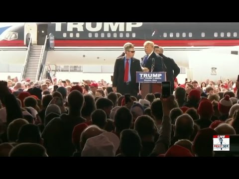 (3-12-16-Dayton Ohio) Attempted Assassination of Donald Trump?