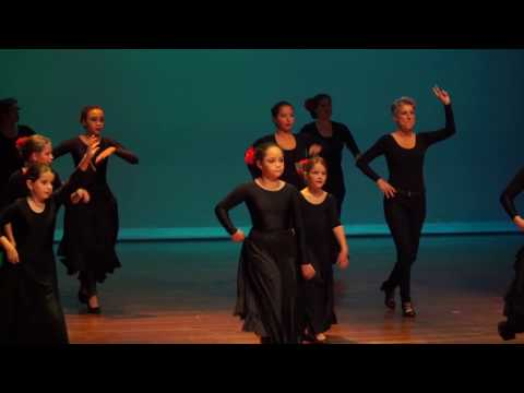 Spaanse Dansschool Amapola op het Kulturele Amateur Manifestatie in Breda 2016 Complete voorstelling