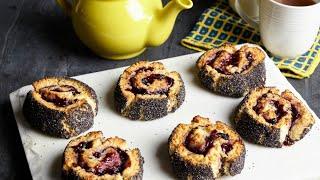 Bonne Maman Blueberry-Barley Pinwheel Scones