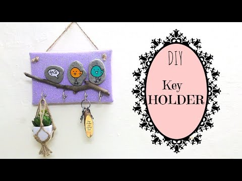 How to make a key Holder using waste.