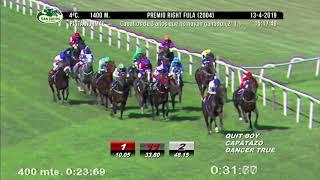 Vidéo de la course PMU PREMIO RIGHT FULA 2004