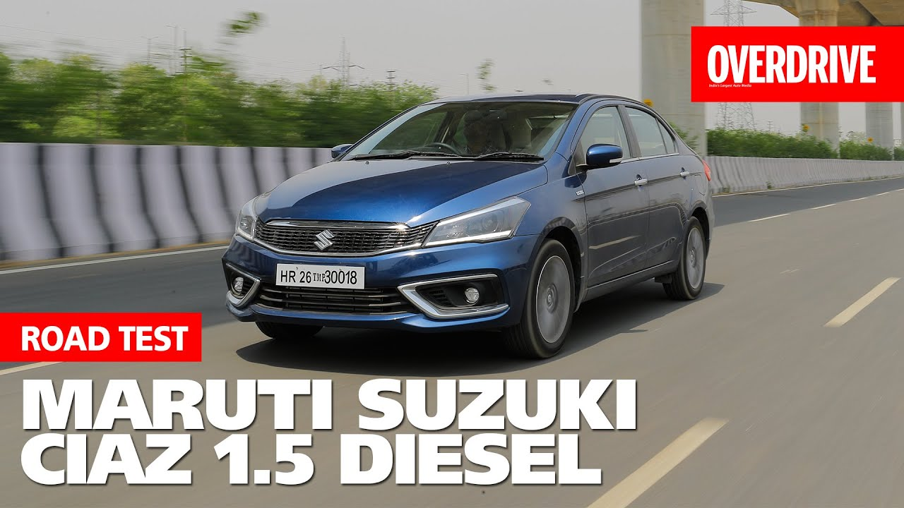 2019 Maruti Suzuki Ciaz facelift road test review - Overdrive