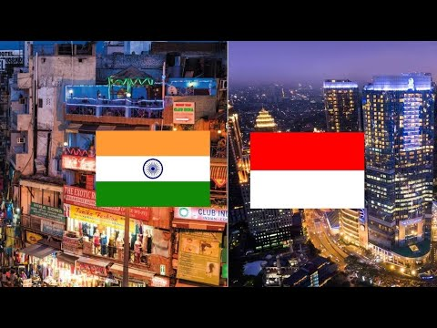 New Delhi (INDIA) & Jakarta (INDONESIA), Two Capital of Emerging Economy Countries