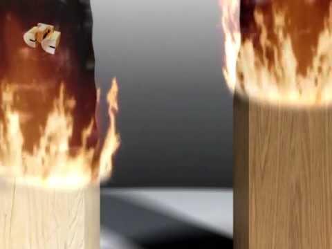 Огнезащита деревянных строений, ролик ГАЛИЛЕО