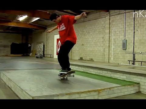 PJ LADD - CLIP OF THE DAY - TRICKS AT PAUL'S PARK