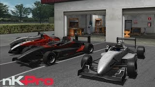NKPro Racing - Impossible to drive with keyboard - Gameplay (HD)