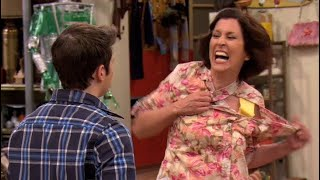 mrs benson from icarly acting crazy for 2 minutes and 34 seconds straight