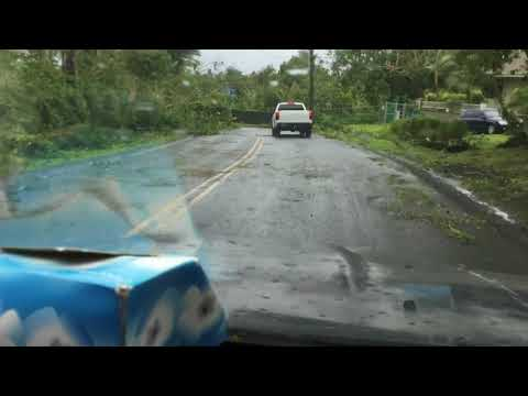 First video about american samoa hurricane