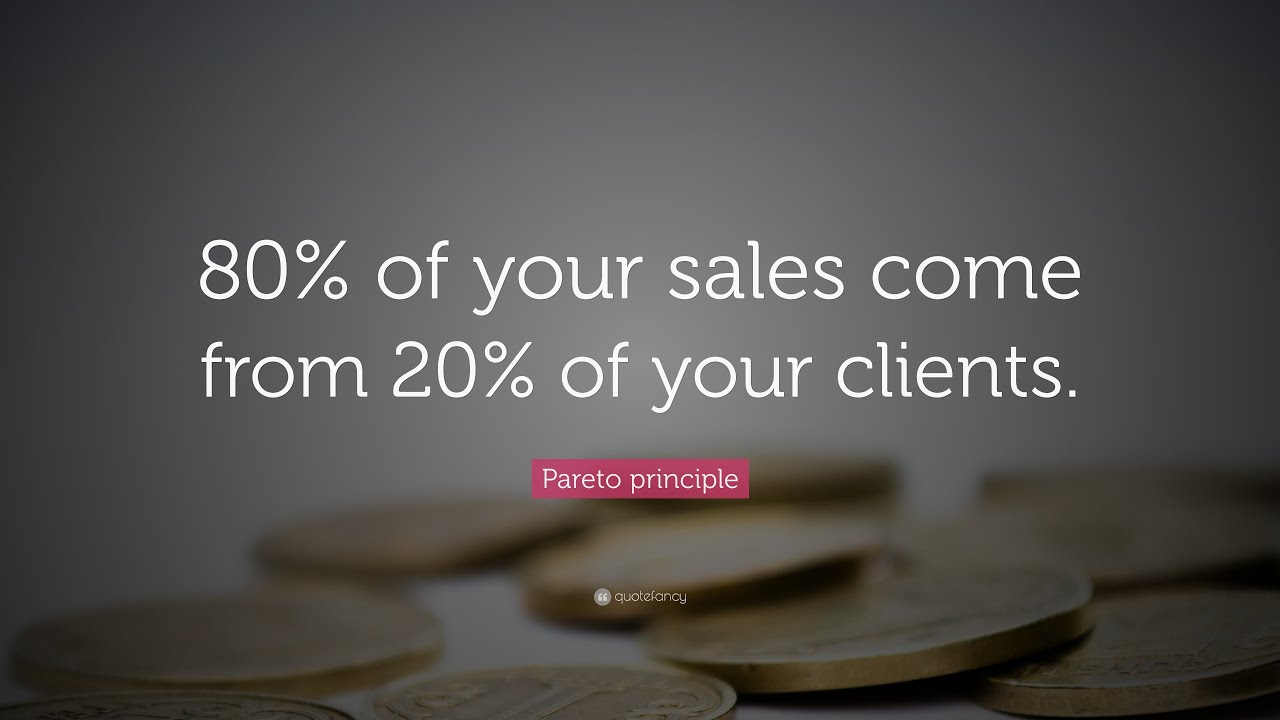 Top 10 Examples Of The Pareto Principle 8020 Rule Youtube