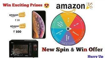 Spin & Win Exciting Prizes in Amazon || Amazon New Spin & Win Offer || All in Techno