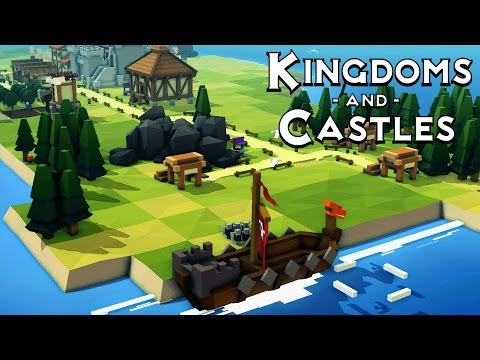 The VIKINGS ATTACK My Kingdom!  Kingdoms and Castles Gameplay Part 2