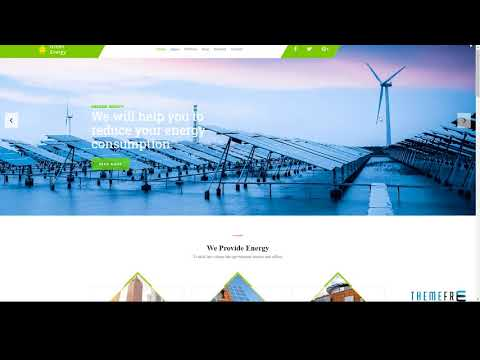 Green Energy - For Renewable Energy Company HTML Template        | Fr