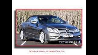 Mercedes Benz E Class 2 1 E220 CDI BlueEFFICIENCY Sport Full Video