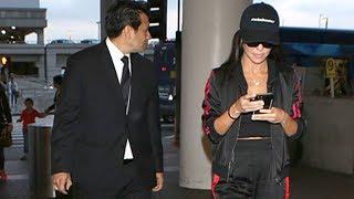 Kourtney Kardashian Peppered With Questions About Younes Bendjima