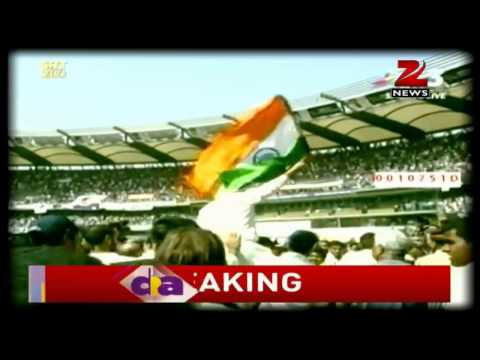 Sachin Tendulkar- The youngest Indian and first sportsperson to get Bharat Ratna