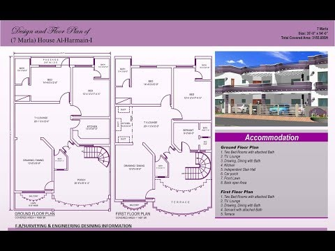 How to Create an Architectural Plan for a house in full Detail and explanation in AutoCAD Part-2