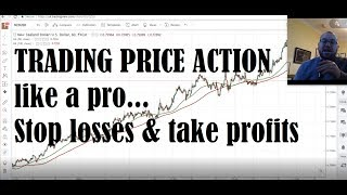 Trading Price Action like a Pro... Stop losses & take profits