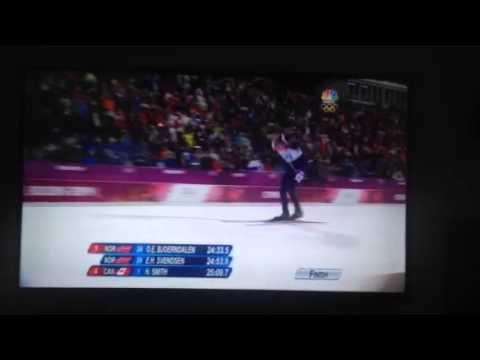 BJORNDALEN Best Olympic Commentary - Sochi 2014
