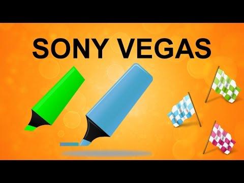 Маркеры и отрезки в Sony Vegas. Полезные инструменты и функции для монтажа. Уроки видеомонтажа