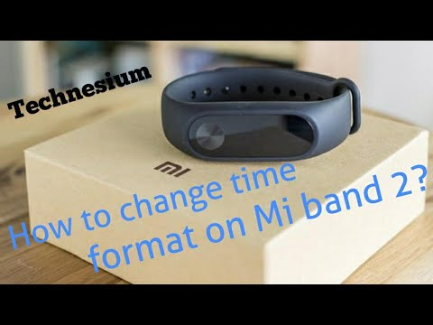 How To Change Time Format On Mi Band 2?