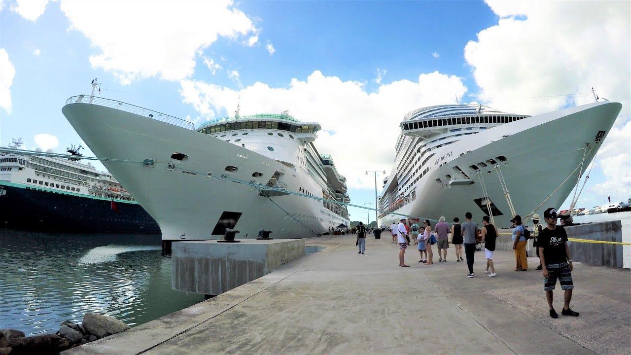 St John U0026 39 S Antigua Cruise Port Tour  4k