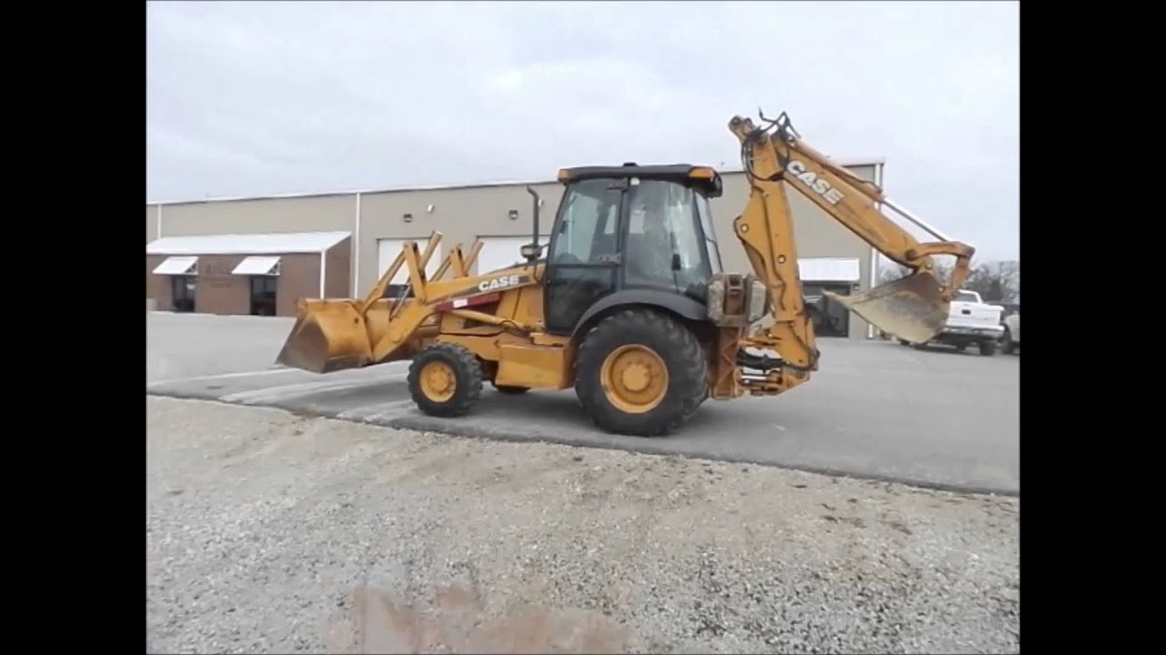 2001 Case 580 Super M backhoe for sale | no-reserve Internet auction March  31, 2016