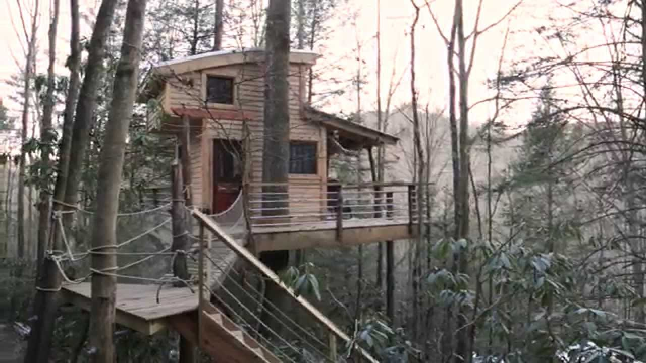 Canopy Crew - Tree House - Red River Gorge & Canopy Crew - Tree House - Red River Gorge - YouTube