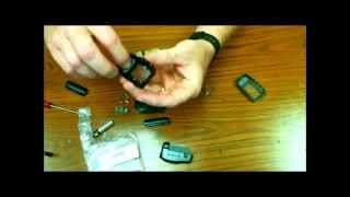 Replacing your 2 way lcd alarm remote shell case