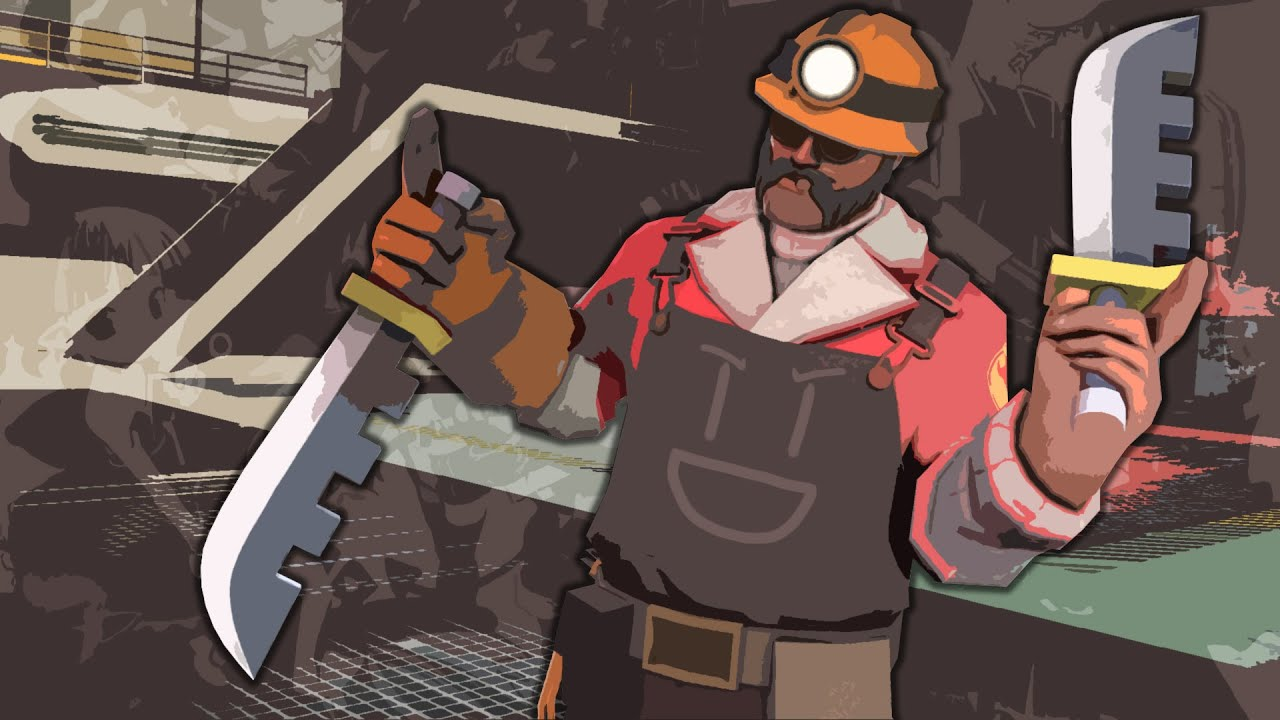 Engi and Spy's Knife Adventure - half man, half knife, all fury. 1/4th spy. 2 oz. vinegar. optional: parmesan.