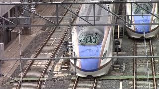 北陸新幹線 浸水被害を受けた車両(長野新幹線車両センター) 20191020