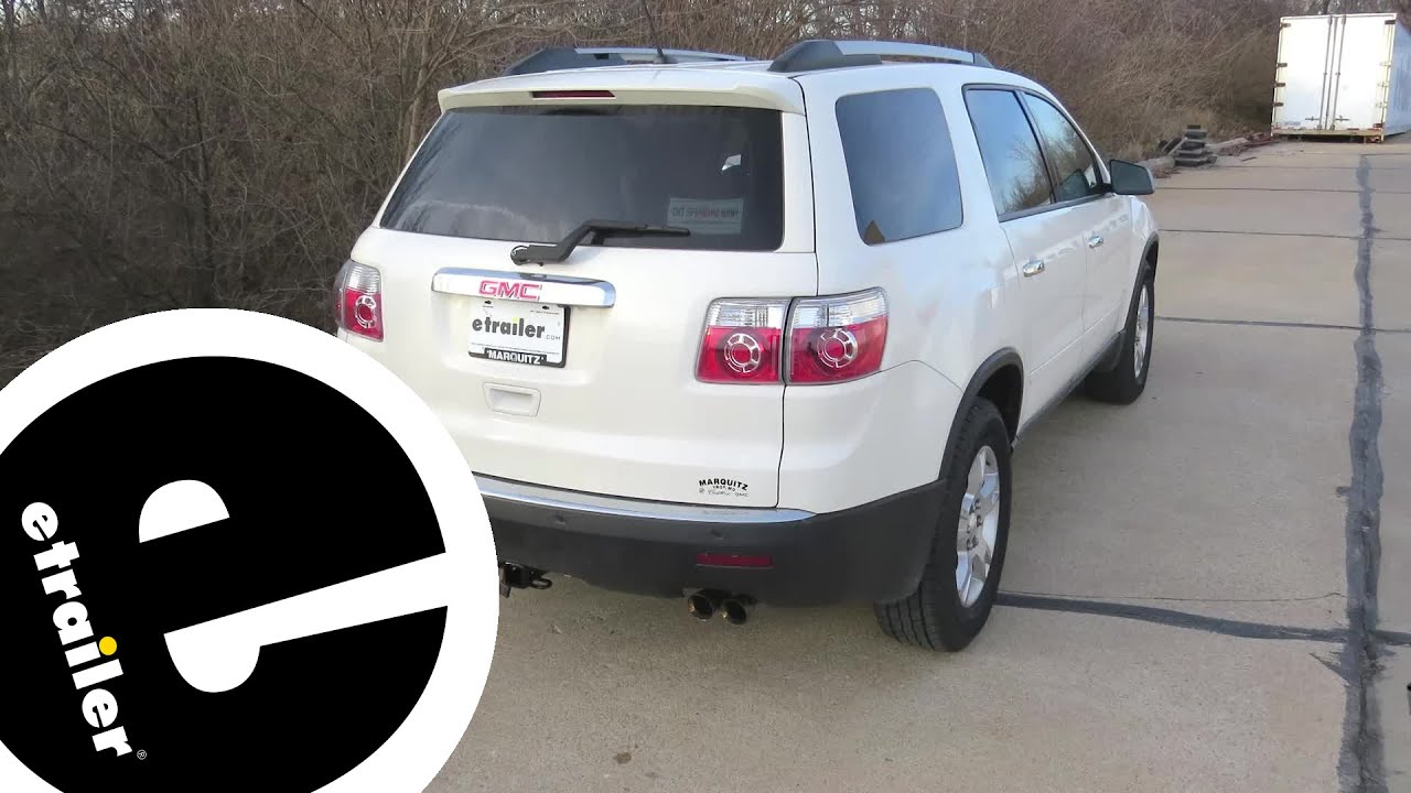hight resolution of best 2012 gmc acadia trailer wiring options etrailer com
