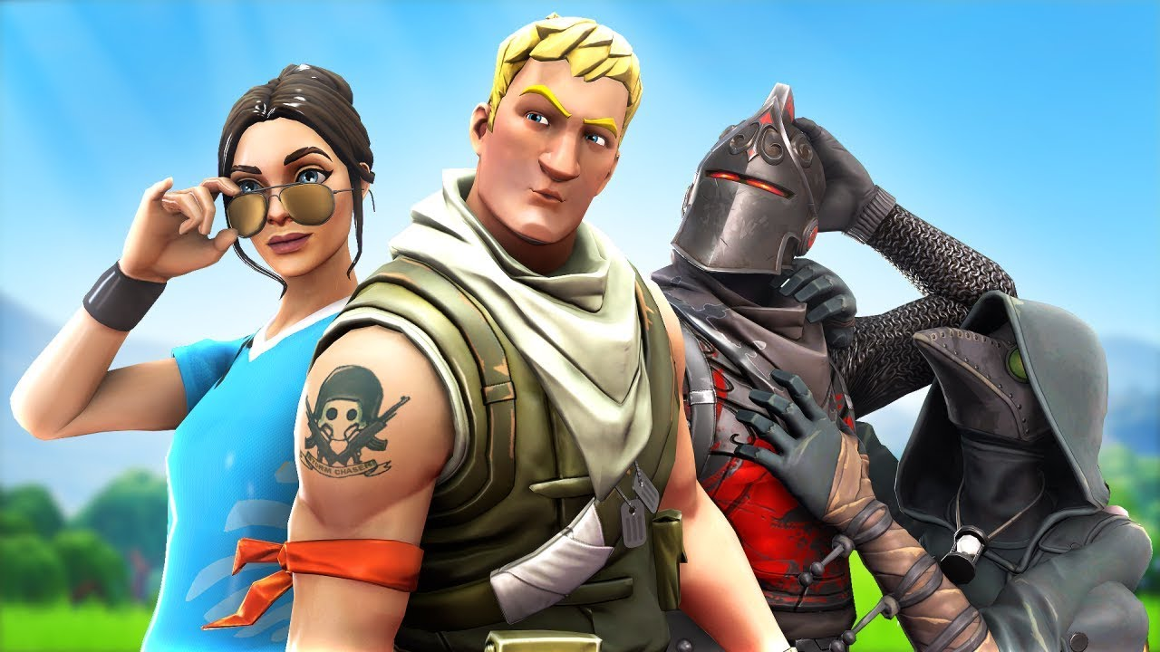 The most handsome Fortnite players win a pro match - YouTube