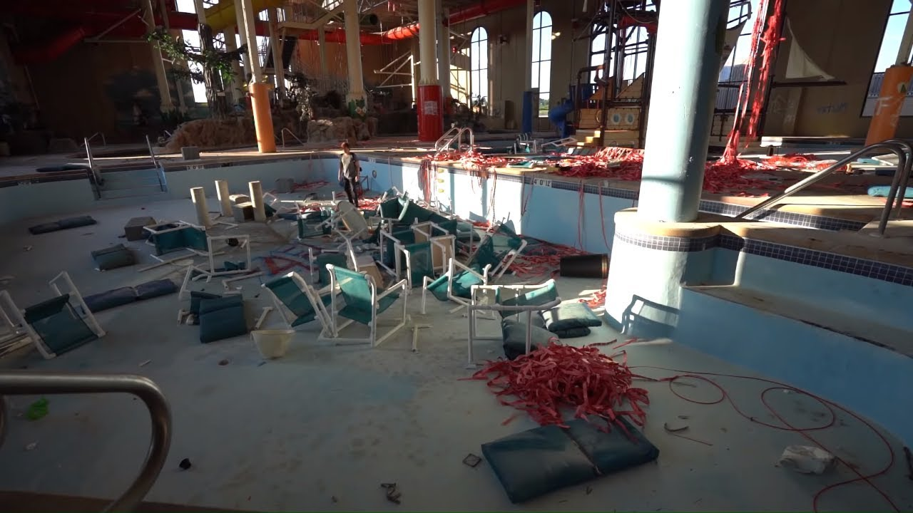 Abandoned Five Star Hotel Found With Indoor Waterpark Youtube
