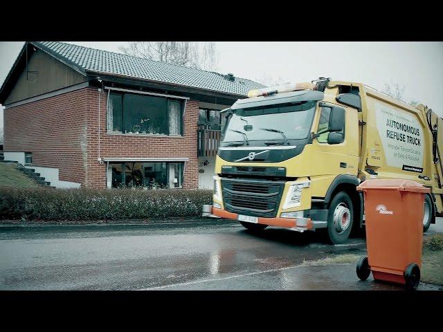 Volvo Autonomous Garbage Truck