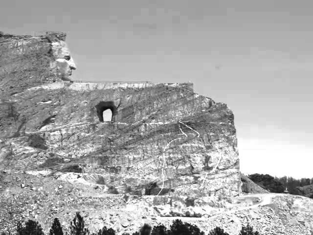 Crazy Horse Memorial Blast May 3, 2014