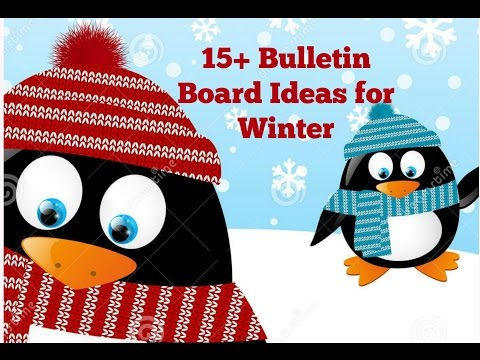 Bulletin Board Ideas for Winter